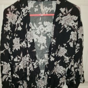 Floral Robe or Swimsuit Cover
